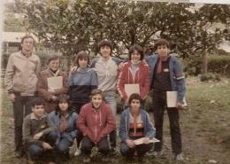 12-14 de noviembre de 1982 Chiquibosco en Urnieta