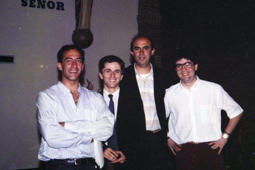 Julio, Diego, Juanjo y Jose