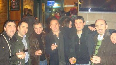 Alfredo, Jesús Mª, José Carlos, Jesús Mª y Emilio