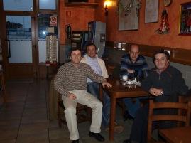 Diego, Paulino, César y José Juan