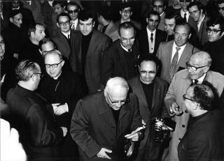 29 de marzo de 1974 Visita de Don Luis Ricceri