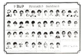 Urnieta 1º BUP 1983-84
